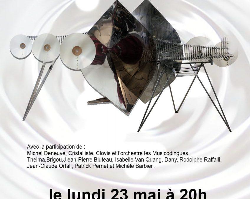 23 mai 2016  Hommage à François et Bernard Bashet, créateurs de sculptures sonores