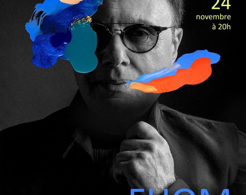Lundi 24 Novembre 2017 Concert de Fhom