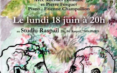 """Samedi 18 juin à 20h Claudel & Jammes : """"Frères d'âmes"""""""