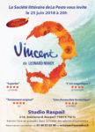 Lundi 25 juin 2018 à 20h  Vincent