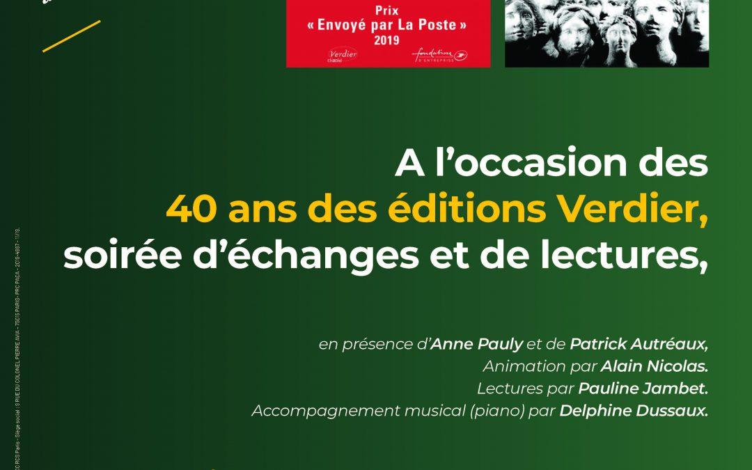 Mardi 10 décembre 2019 : Fondation La Poste