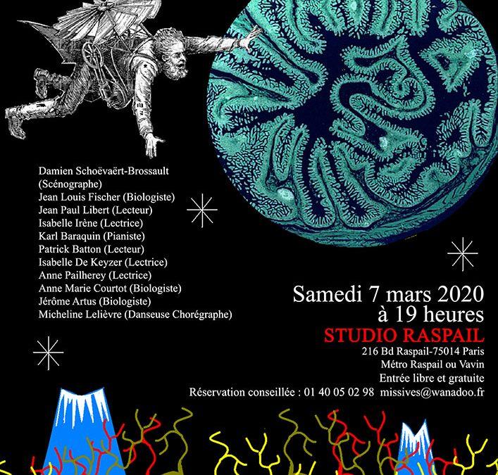 Samedi 7 mars 2020 : Soirée littéraire
