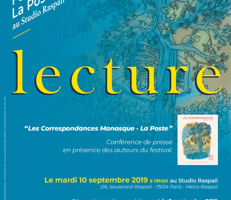 Mardi 10 septembre 2019 : Soirée Fondation La Poste