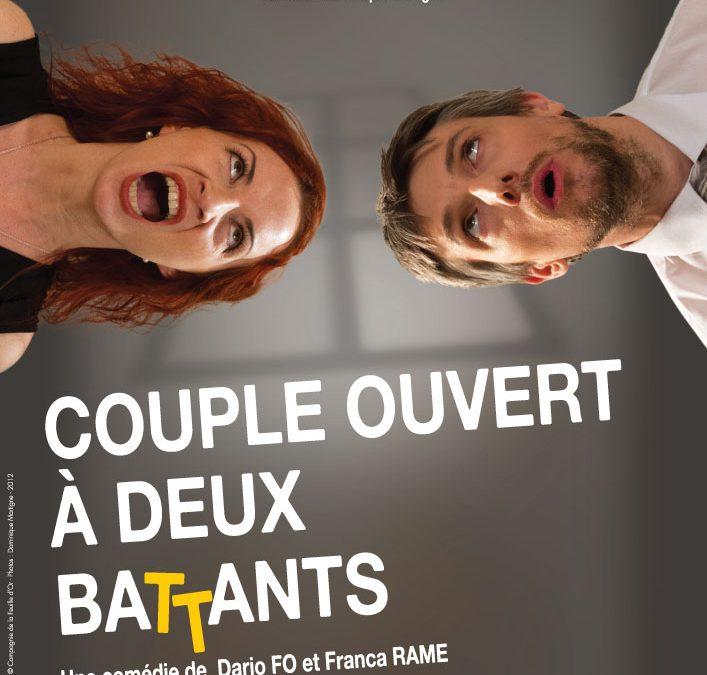26 Juin 2012 – Théâtre – Couple ouvert à deux Battants