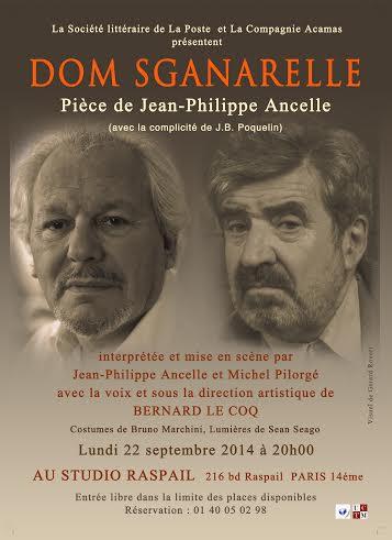 22 Sept. 2014 Dom Sganarelle