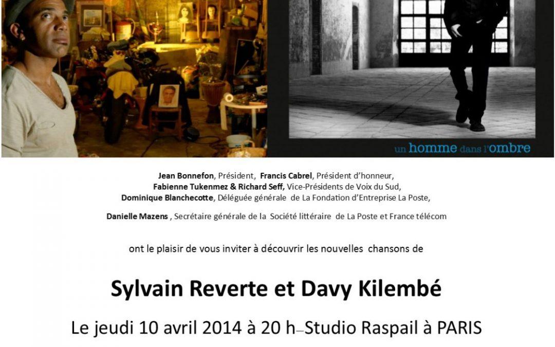 Le Bazar Tour et Un homme dans l'ombre – Spectacle musical le 10 avril 2014