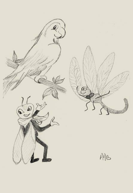 Missives n°271 – Décembre 2013 – La cigale, la libellule et le perroquet