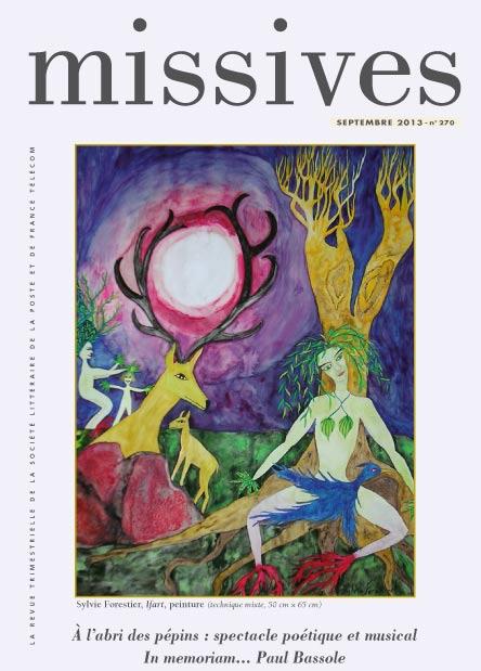 Missives n° 270 – Septembre 2013