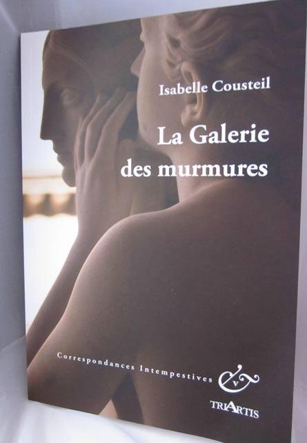 Missives n°272 – La Galerie des murmures d'Isabelle Cousteil