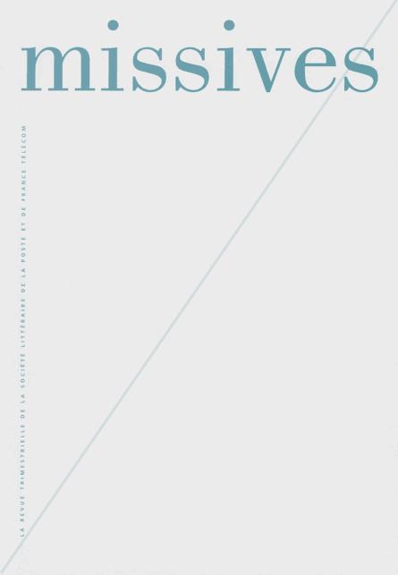 Missives – 254 – Septembre 2009