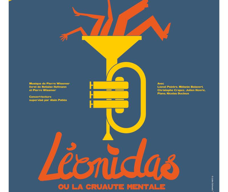 Lundi 28 janvier 2019 à 20h – Léonidas ou la Cruauté Mentale – Les petite fugue de la grande fugue / opus 29