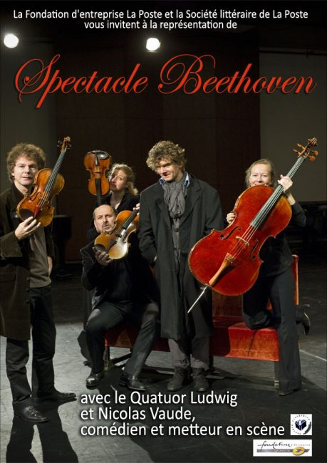 25 Juin 2012 – Théâtre – Spectacle Beethoven
