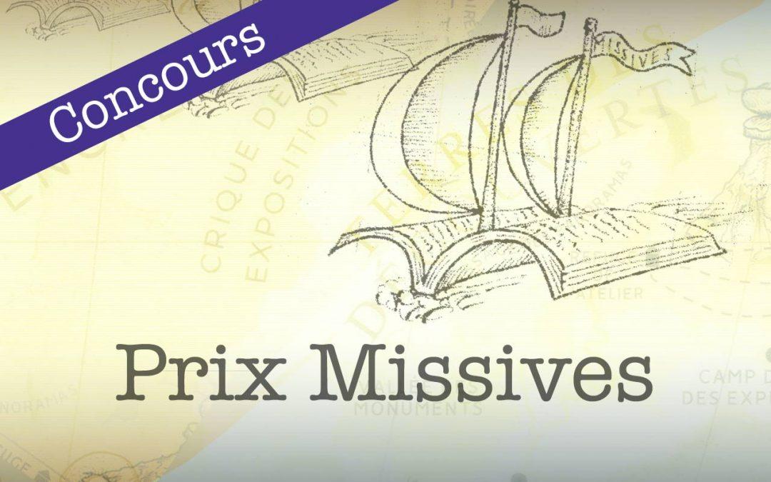 Prix Missives 2019