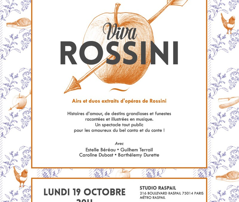 19 octobre 2015 – Viva Rossini